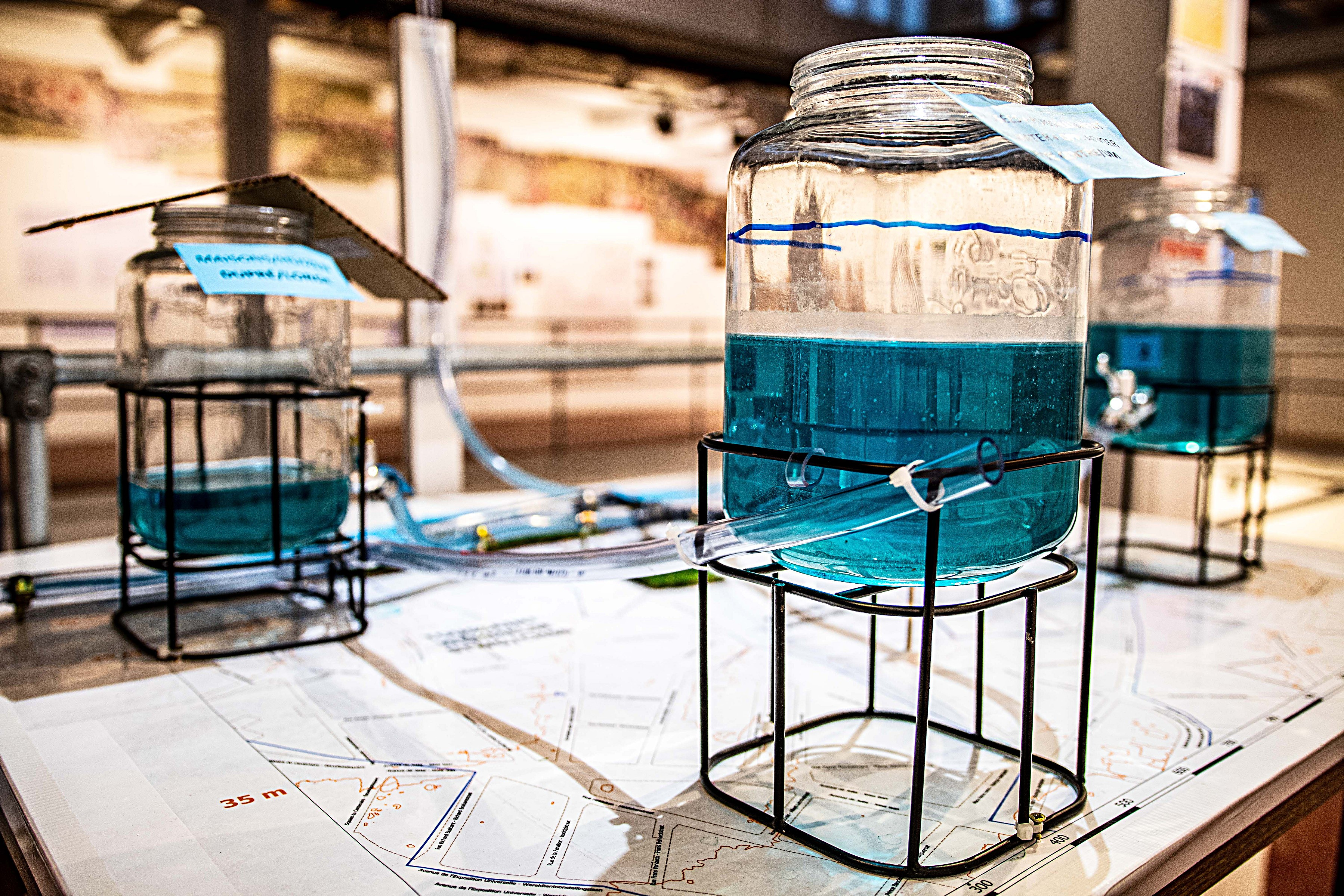 22 mars > 24 avril - Expo 'Bruxelles sensible à l'eau'