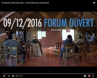 Forum ouvert sur la solidarité internationale