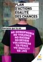 Plan d'actions Egalité des Chances