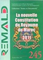 Nouvelle constitution marocaine, 2011