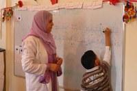 Apprentissage de la lecture/écriture, Sidi Bibi