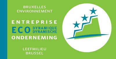 Logo du label entreprise éco-dynamique