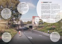 Fiets- en voetgangersloopbrug Toussaint - de Rivieren