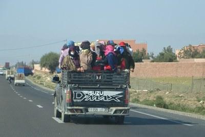 Sidi Bibi & Belfaa (transport van vrouwen)